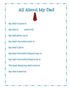 All About Dad book FREE