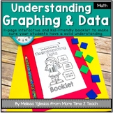 All About Data Theme Booklet {Mastering Pictographs, Bar Graphs, & Line Plots}