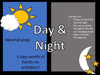 All About Day and Night!