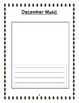 All About December Informational Book Template