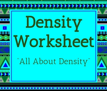 All About Density