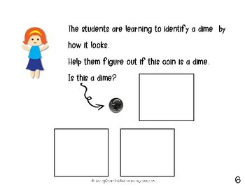 All About Dimes {An Adapted Book for Young or Struggling Learning}