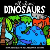 All About Dinosaurs Interactive Notebook and Poster Set