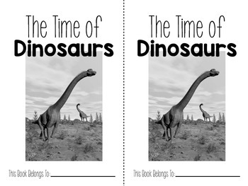 All About Dinosaurs {Non-Fiction Research and Activities}