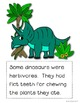 All About Dinosaurs a non fiction book for beginning readers