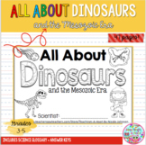 All About Dinosaurs mini-book
