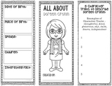 DOREEN CRONIN - Famous Author Biography Research Project - Graphic Organizer