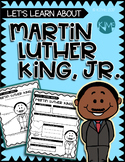 All About: Dr. Martin Luther King, Jr. - Graphic Organizer