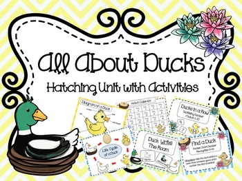 All About Ducks: Hatching Unit with Activities
