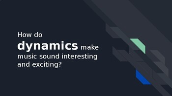 All About Dynamics!