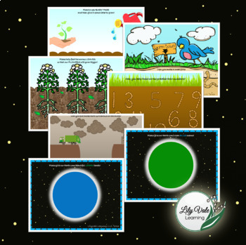 All About EARTH DAY Playdough Mats!