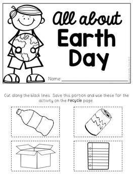 All About Earth Day Flip Booklet