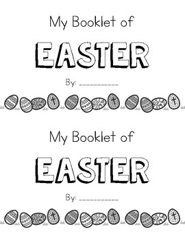 All About Easter Booklet
