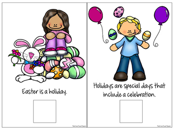 All About Easter: Interactive Book