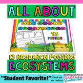 "Ecosystems: ""All About Ecosystems"" Poster Activity"