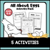 All About Eggs Activity Pack