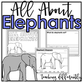 All About Elephants {Differentiated Informational Text Writing}
