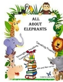 All About Elephants - Kim and Nan Series - Easy Readers wi