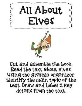 All About Elves-Main Topic and Key Details