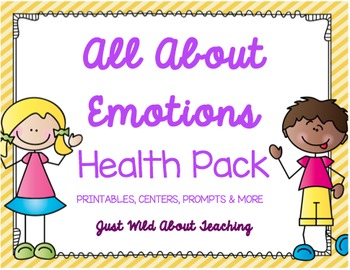 All About Emotions {Health Pack}