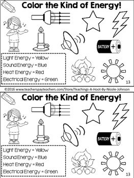 All About Energy NGSS mini-book