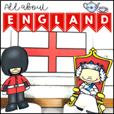 All About England Geography Maps and Activities