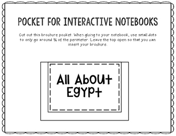 Egypt - Research Project - Interactive Notebook - Government - Mini Book