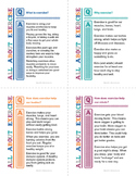 All About Exercise Cards
