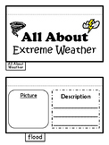 All About Extreme Weather Foldable Science Interactive Notebook Resource