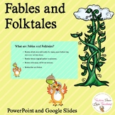 Fables and Folktales PowerPoint | Distance Learning
