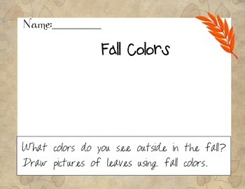 Seasons All About Fall Book