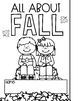 All About Fall Flip Book