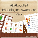 All About Fall Phonological Awareness Pack