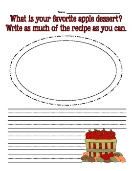 All About Fall Writing Bundle Common Core Aligned 1st, 2nd, and 3rd Grade