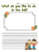 All About Fall Writing Bundle Common Core Aligned 1st, 2nd