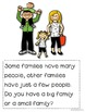 All About Families a non fiction book for beginning readers