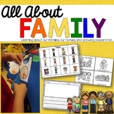 All About Family: A Kindergarten Family Unit