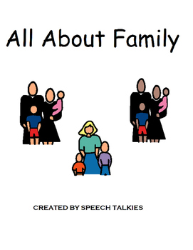 All About Family: Family Members (Speech, Autism)