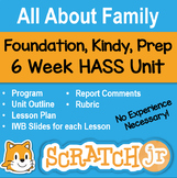 All About Family - HASS Unit (History & Geography) for Kindy, Prep & Foundation