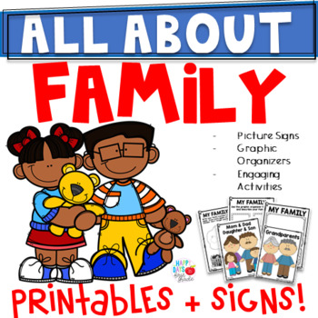 ALL ABOUT FAMILY- Kindergarten/1st/2nd