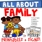ALL ABOUT FAMILY- Kindergarten/1st/2nd (TEKS & CCSS Aligned)