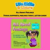 All About Feelings Companion Activity and Visuals, Featuri