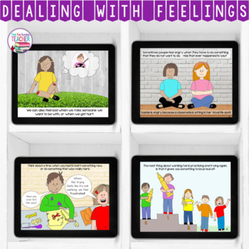 Feelings and Emotions | All About Feelings Story lesson | Distance Learning