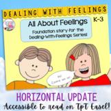 Feelings: Identifying Feelings, Emotions: All About Feelings Story lesson