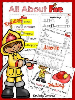 All About Fire: Activities for Young Learners