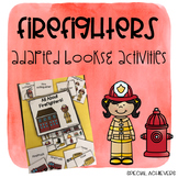 All About Firefighters Adapted Book and Activities