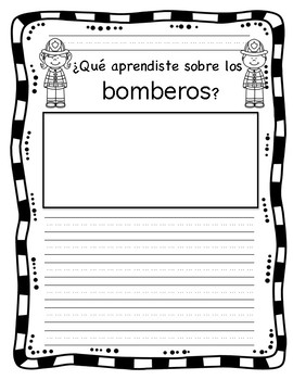 All About Firefighters/ Todo sobre bomberos in English and Spanish