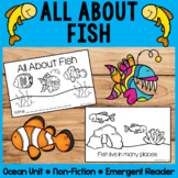 All About Fish | Emergent Readers | Non-Fiction | Ocean Animals