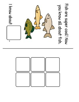 All About Fish! Fact and Vocabulary Book