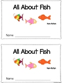 All About Fish Non-fiction Emergent Reader!
